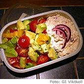 En matlåda i kylskåpet /erviluca