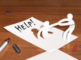 Be om hjälp och endometirios