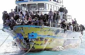 flyktingar i båt 5