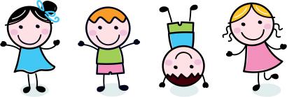 Bildresultat för lekande barn tecknat