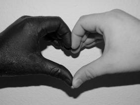 kärlek med händer