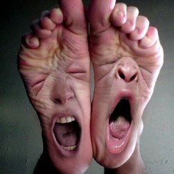 angry feet