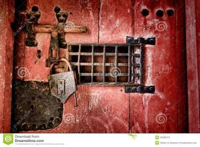 låst dörr
