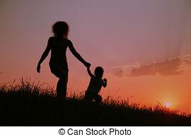mamma och barn