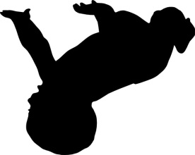 baby falling