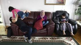 flyktingar hemma