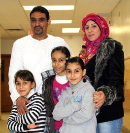 flyktingfamilj