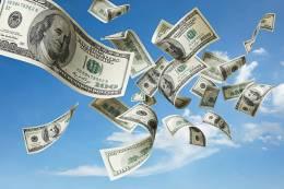 flygande pengar