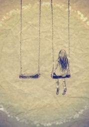 ledsen flicka 6