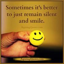 tyst och le