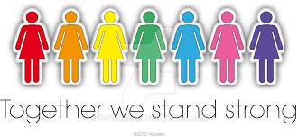 tillsammans är vi starka kvinnor