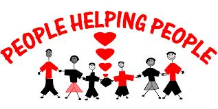 människor hjälper människor