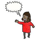 skrikande kvinna 2
