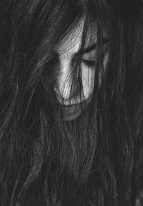 ledsen tjej