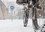 cykla på vintern