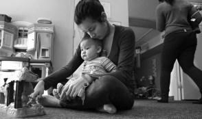 ensam mamma med litet barn 2