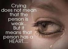 gråta är bra