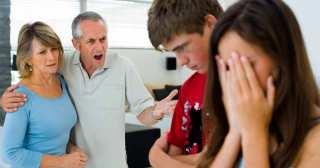 arga föräldrar till gravida ungdomar