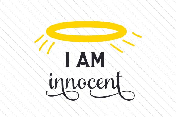 jag är oskyldig