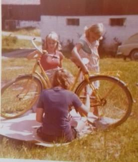Lindris måla cykel 1