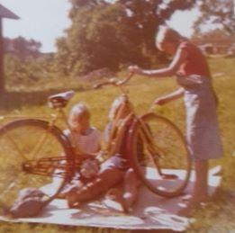 Lindris måla cykel 2
