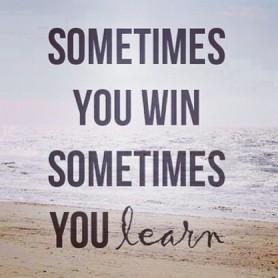 ibland vinner du ibland förlorar du