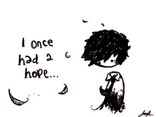 förlorat hopp