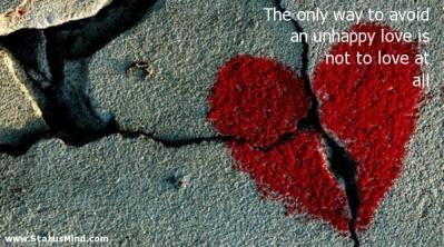 olycklig kärlek 1