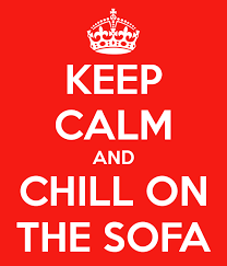 chill in sofa