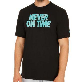 aldrig i tid