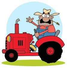 bonde på traktor 1