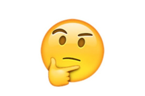 emoji funderar