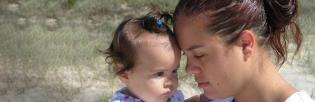 mamma med barn 3