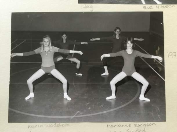 dansa silverflickorna