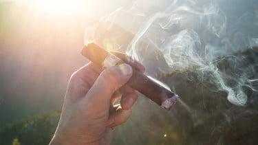 Att röka en cigarr