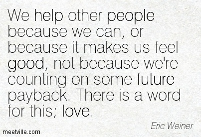 älska att hjälpa