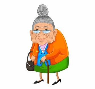 gammal kvinna 3