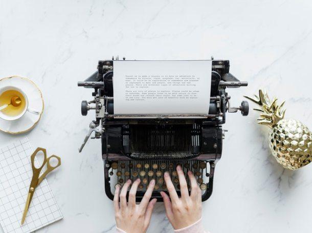skriva en bok